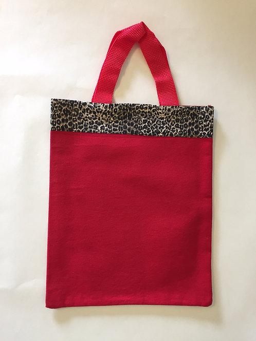 Red Cheetah Small Bag