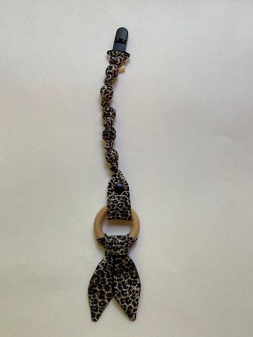 Cheetah Teether Clip