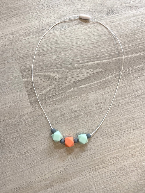 Alice Silicone Bead Necklace