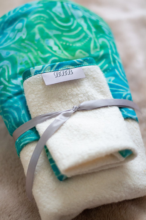 Minnows Hooded Baby Towel Set