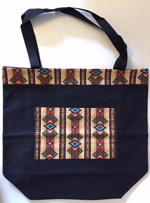 Sedona and Black Large Bag
