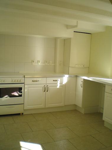 kitchen maison avec jardin