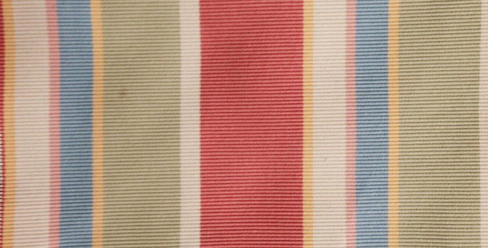 Multicolored Stripe - Pink Blue Green
