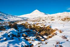 Winter, The Clisham, Isle of Harris