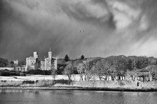 Snow clouds, Lews Castle, Stornoway