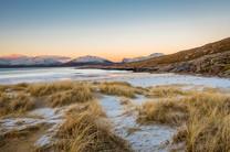 Frosty dunes, Luskentyre, Isle of Harris