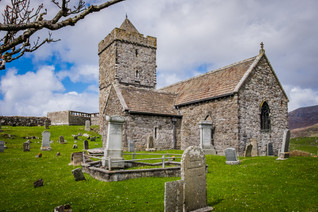 St. Clements, Rodel, Isle of Harris