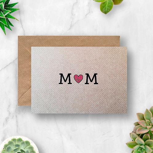 Mum Heart Card