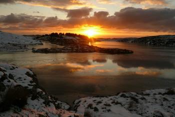 Winter sunrise, Grimshader, Isle of Lewis