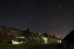 Night sky, Garenin, Isle of Lewis