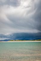 Incoming storm, Luskentyre, Isle of Harris