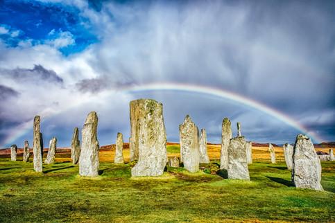 Rainbow, Callanish, Isle of Lewis
