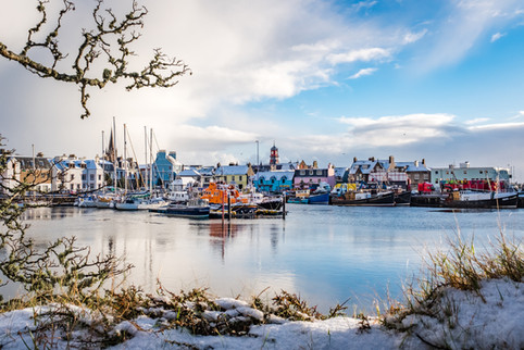 Winter in Stornoway