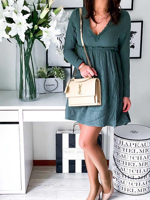 Robe Sienna vert d'eau