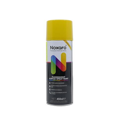 Vopsea spray fluorescent Galben 450ml NOXARO