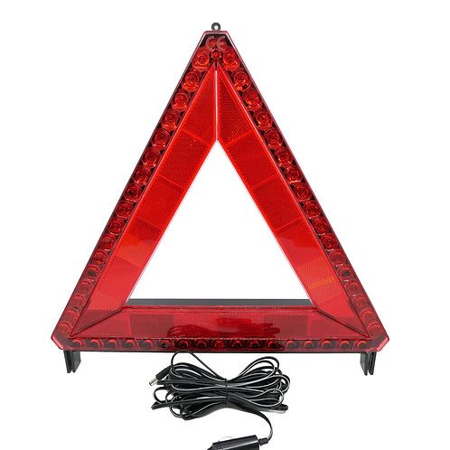 Triunghi reflectorizant cu LED RUNKIT