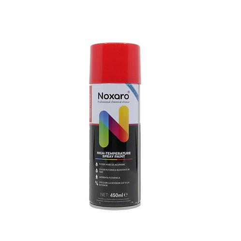 Vopsea spray rezistenta la temp. inalta Rosu 450ml NOXARO
