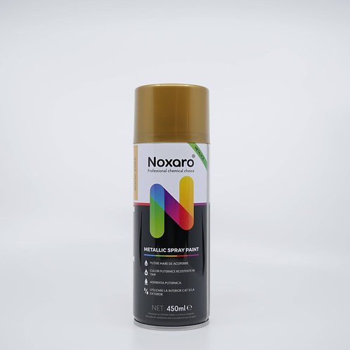 Vopsea spray metalizat Auriu 2595 450ml NOXARO
