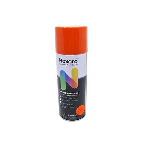 Vopsea spray rezistenta la temp. inalta Portocaliu fluorescent 450ml NOXARO