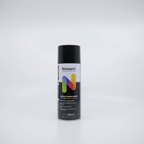 Vopsea spray negru lucios 450ml NOXARO