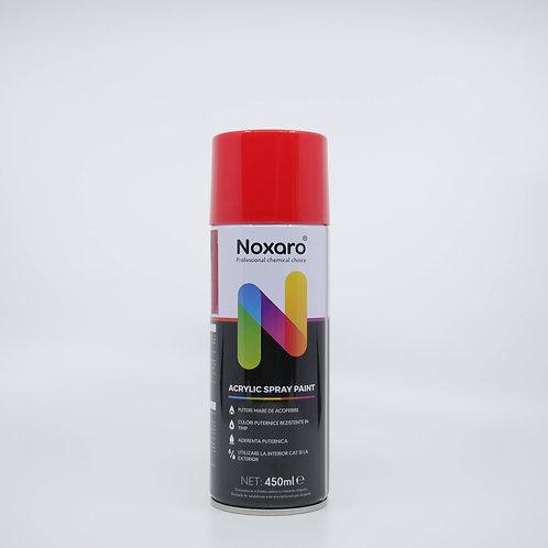 Vopsea spray transparent Rosu 450ml NOXARO