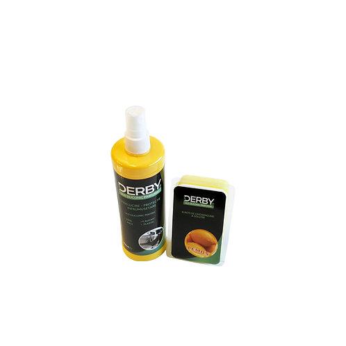 Ulei siliconic parfumat pentru bord Lamaie 300 ml + burete DERBY