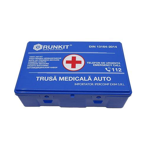 Trusa sanitara auto DIN13164 albastra RUNKIT