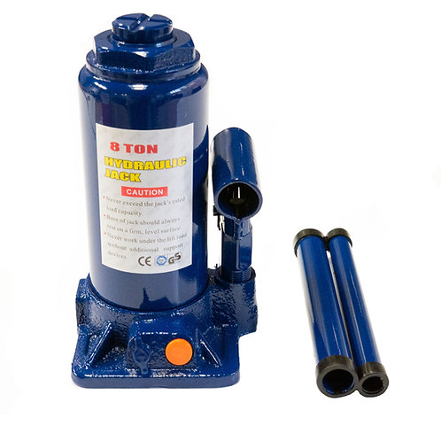 Cric hidraulic 8T albastru RUNKIT