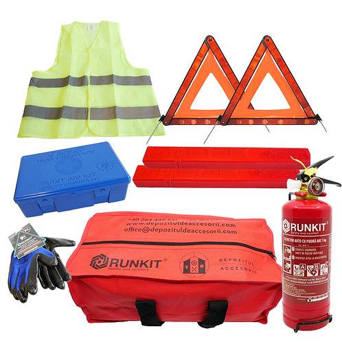 Kit obligatoriu omologat pentru siguranta auto