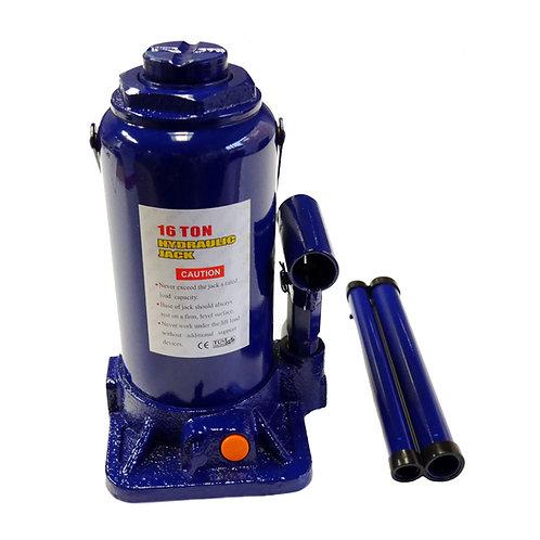 Cric hidraulic 16T albastru RUNKIT