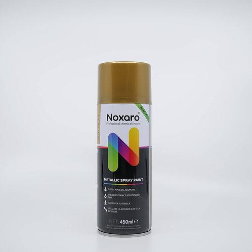 Vopsea spray metalizat Auriu 2599 450ml NOXARO