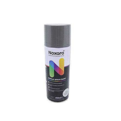 Vopsea spray rezistenta la temp. inalta Argintiu fluorescent 450ml NOXARO