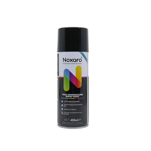 Vopsea spray rezistenta la temp. inalta Negru 450ml NOXARO