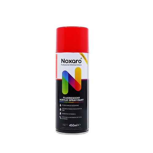 Vopsea spray fluorescent Rosu 450ml NOXARO
