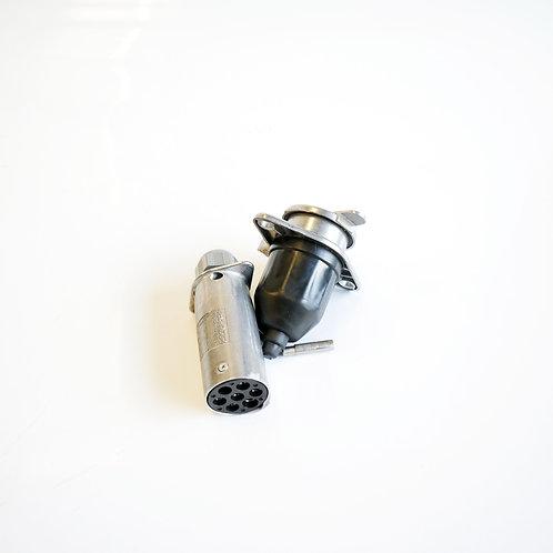 Fisa cu priza remorca metal 24V 7 pini ALSA
