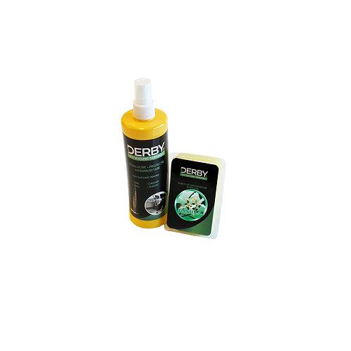 Ulei siliconic parfumat pentru bord Vanilie 300 ml + burete DERBY