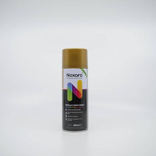Vopsea spray metalizat Auriu 18k 450ml NOXARO