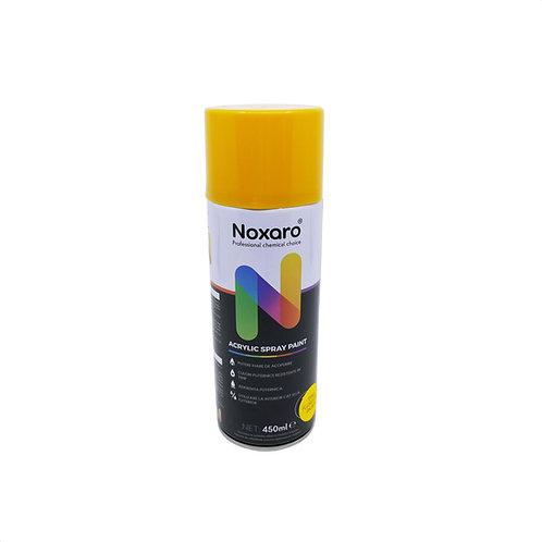Vopsea spray rezistenta la temp. inalta Galben fluorescent 450ml NOXARO