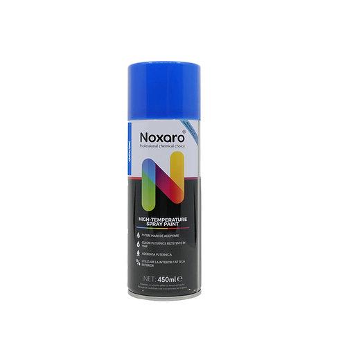 Vopsea spray rezistenta la temp. inalta Albastru 450ml NOXARO