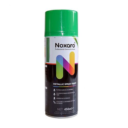 Vopsea spray metalizat Flash Verde 1380 450ml NOXARO