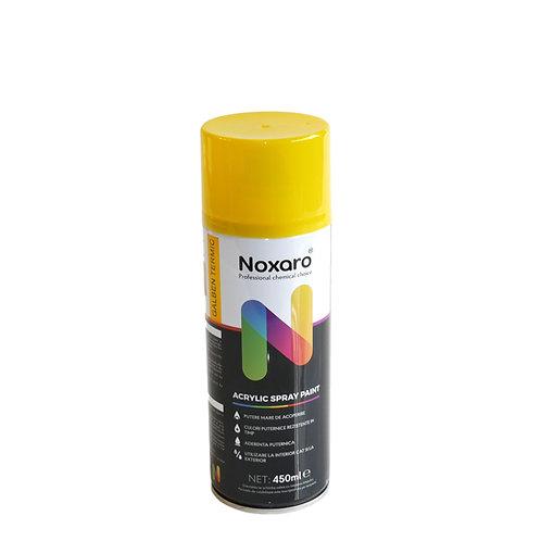Vopsea spray rezistenta la temp. inalta Galben 450ml NOXARO