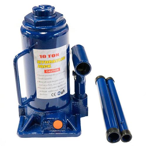 Cric hidraulic 10T albastru RUNKIT
