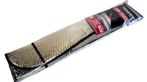 Parasolar aluminiu 2 fete 70x145 cm TRIMMER