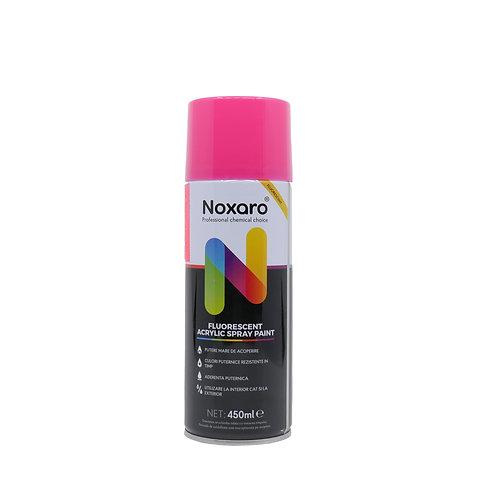 Vopsea spray fluorescent Roz 450ml NOXARO