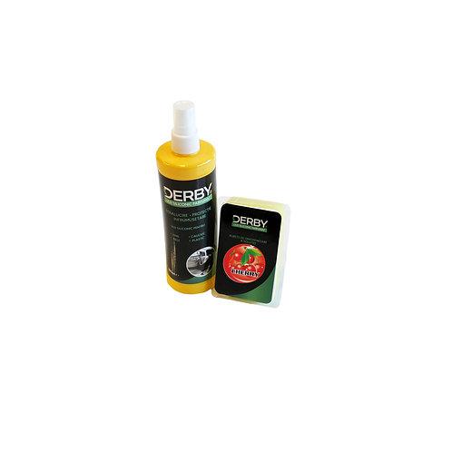 Ulei siliconic parfumat pentru bord Cirese 300 ml + burete DERBY
