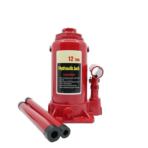 Cric hidraulic 12T rosu RUNKIT