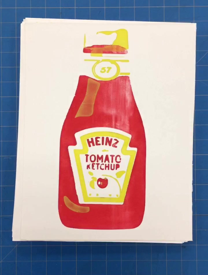 Ketchup Screen Prints