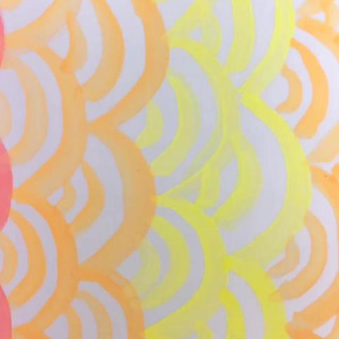 Rainbow Shell Screen Print