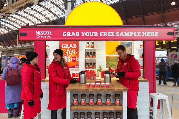 RPM PEOPLE, EVENT STAFF IN UK NESCAFE CASE STUDY