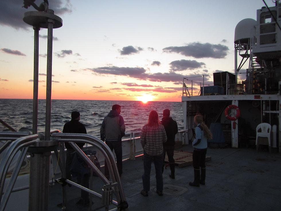 Teamwork Sunset.JPG